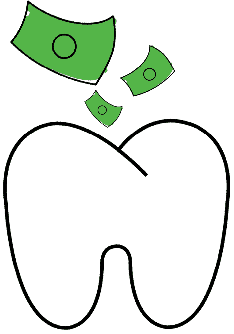 investing in your teeth graphic